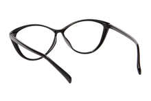 Load image into Gallery viewer, Ladies Cateye Frames Clean Lens Anti Blue Light Reading Glasses- 5865