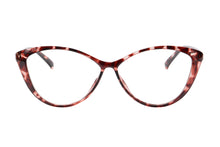 Load image into Gallery viewer, Ladies Cateye  Frames Clean Lens Blue Light Blocking Computer Glasses-5865