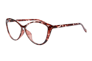 Ladies Cateye Frames Anti Blue Light Progressive Multifocus Reading Glasses-5865