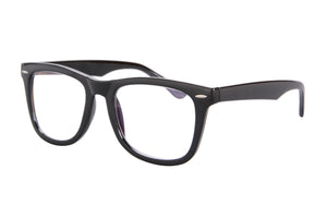 Black Frame Progressive Multifocus Reading Glasses Multiple Focus Eyewear-SH033