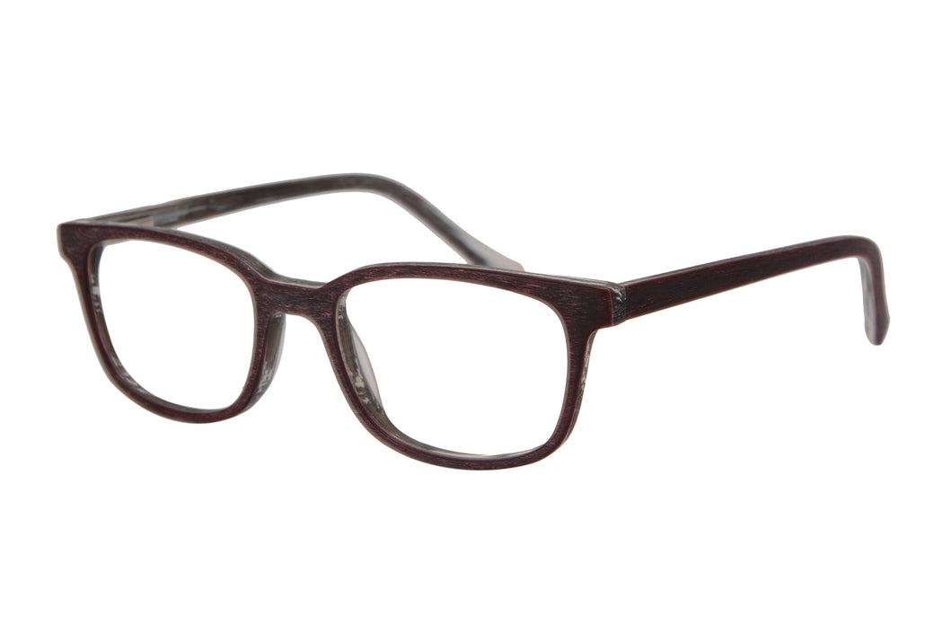 Anti Blue Ray Reading Glasses Men Women +7.00 +8.00 Wood Print Eyeglasses-SHINU-ZF115