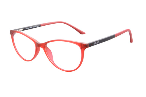 Ladies Cateye  Frames Clean Lens Blue Light Blocking Computer Glasses-SH086