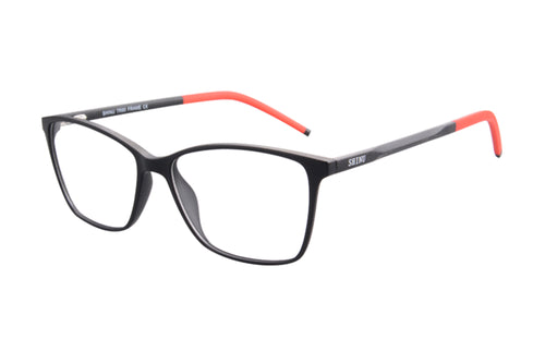 Ladies Cateye Frames Clean Lens Blue Light Blocking Computer Glasses-SH087