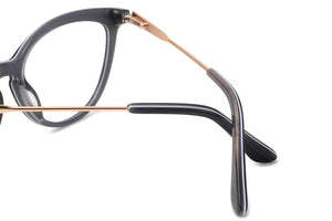Cat Eye Frames Clean Lens Anti Blue Light Progressive Multifocus Reading Glasses- VS4131