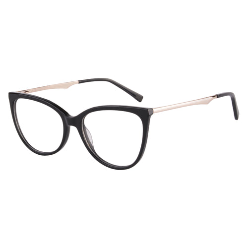 Acetate Cat Eye Frames Clean Lens Anti Blue Light Myopia Glasses- AM66