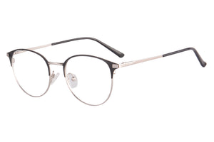 Metal Frames Clean Lens Anti Blue Light Reading Glasses- DC2036