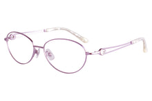 Load image into Gallery viewer, Women Titanium Frames Clean Lens Anti Blue Light Myopia Glasses- FA966