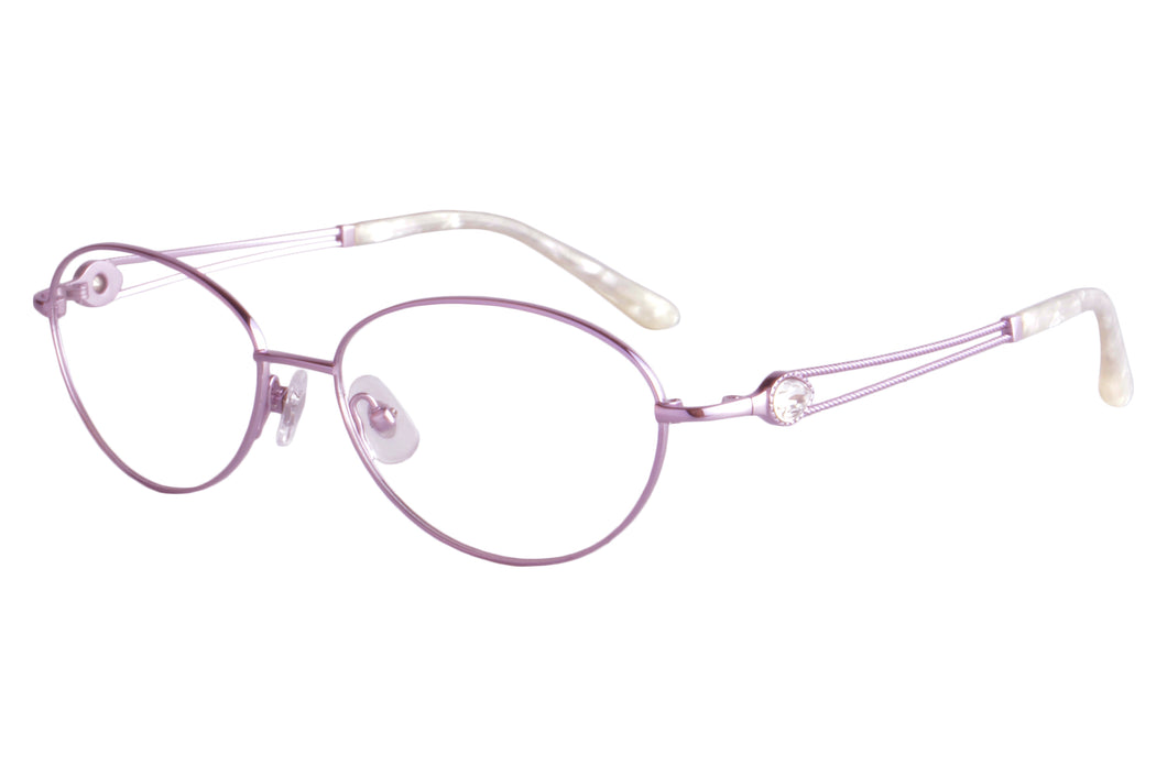 Women Titanium Frames Clean Lens Anti Blue Light Myopia Glasses- FA966