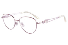Load image into Gallery viewer, Women Titanium Frames Clean Lens Blue Light Blocking Computer Glasses- FA970
