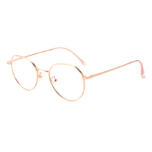 Load image into Gallery viewer, Round Metal Frames Clean Lens Anti Blue Light Progressive Multifocus Reading Glasses-H90305
