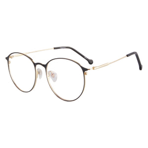 Metal Half Frames Clean Lens Anti Blue Light Reading Glasses- L701