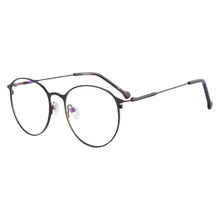 Load image into Gallery viewer, Metal Half Frames Clean Lens Anti Blue Light Reading Glasses- L701