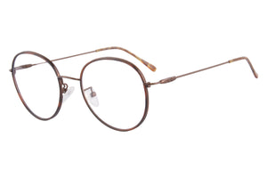 Round Frames Clean Lens Anti Blue Light Myopia Glasses-  LC5593
