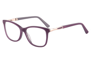 Women Acetate Frames Clean Lens Blue Light Blocking Computer Glasses- RD142