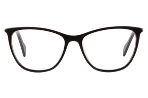 Women Acetate Frames Clean Lens Anti Blue Light Myopia Glasses- RD153