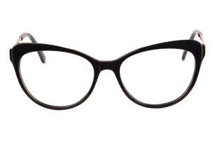 Women Acetate Frames Clean Lens Anti Blue Light Myopia Glasses- RD395