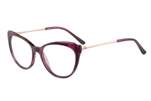Women Acetate Frames Anti Blue Light Progressive Multifocus Reading Glasses- RD395