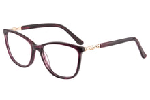 Load image into Gallery viewer, Women Acetate Frames Clean Lens Anti Blue Light Reading Glasses- RD1396
