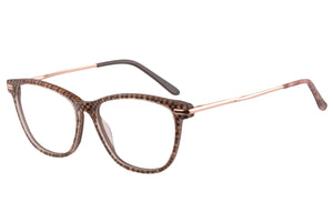 Women Acetate Frames Anti Blue Light Progressive Multifocus Reading Glasses- RD641