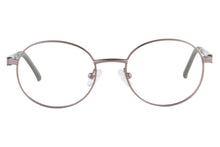 Load image into Gallery viewer, Child's Round Frame Clean Lens Blue Light Blocking Computer Glasses- SS1091