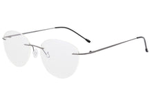 Load image into Gallery viewer, Titanium Rimless Frame Women Blue Light Blocking Anti Blue Light Glasses for Reading SHINU-T1022