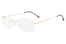 Load image into Gallery viewer, Women's Titanium Rimless Frame Anti Blue Light Glasses for Reading SHINU-T1023