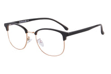 Load image into Gallery viewer, Men's Half Frames Clean Lens Blue Light Blocking Computer Glasses-T6595