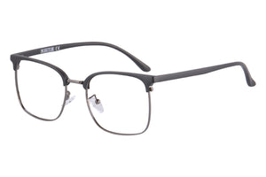 Half Frames Clean Lens Blue Light Blocking Computer Glasses-T6632