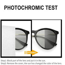 Load image into Gallery viewer, Photochomic Glasses for Bike Riding Men Blue Ray Blocking Myopia Glasses Cycling Sunglasses for Men SHINU-2021