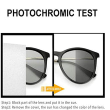 Load image into Gallery viewer, Blue Ray Blokers Photochromic Grey Glasses Polarized Driving Night Vision Sunglasses Women Men SHNU-T6319