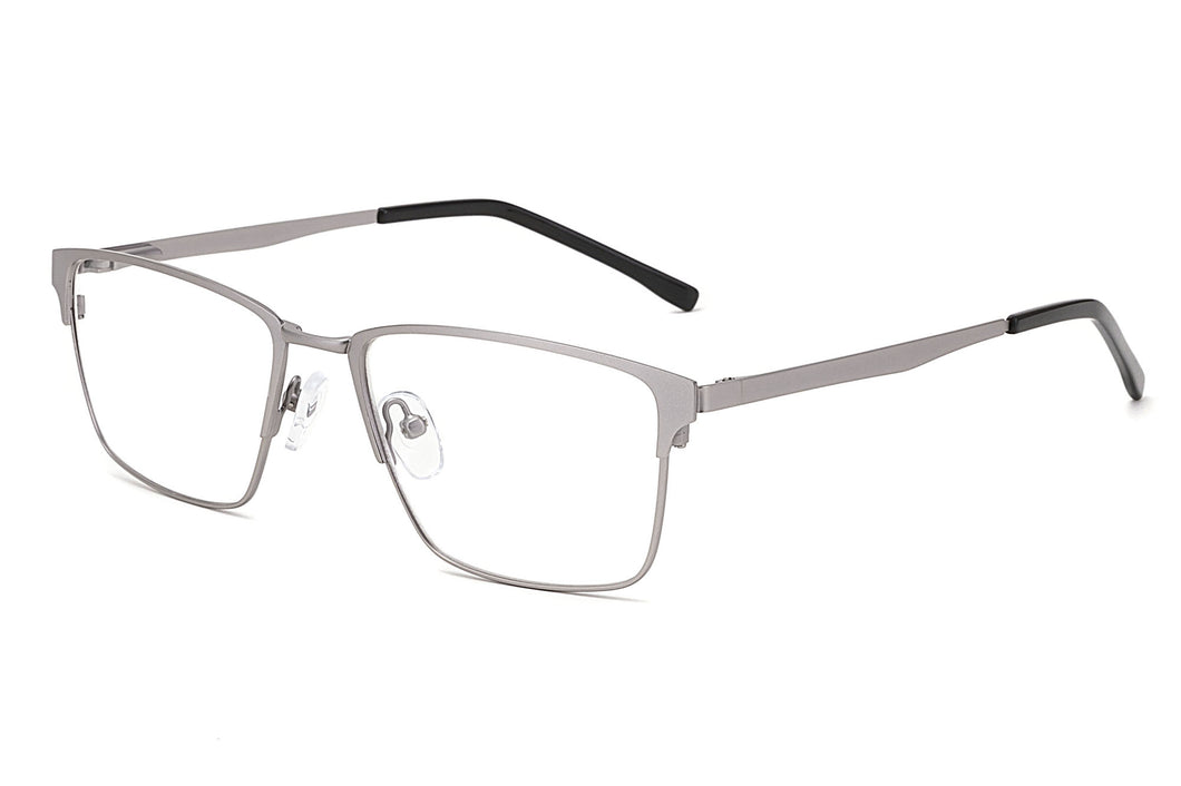 Metal Frames Clean Lens Anti Blue Light Myopia Glasses- VS7082