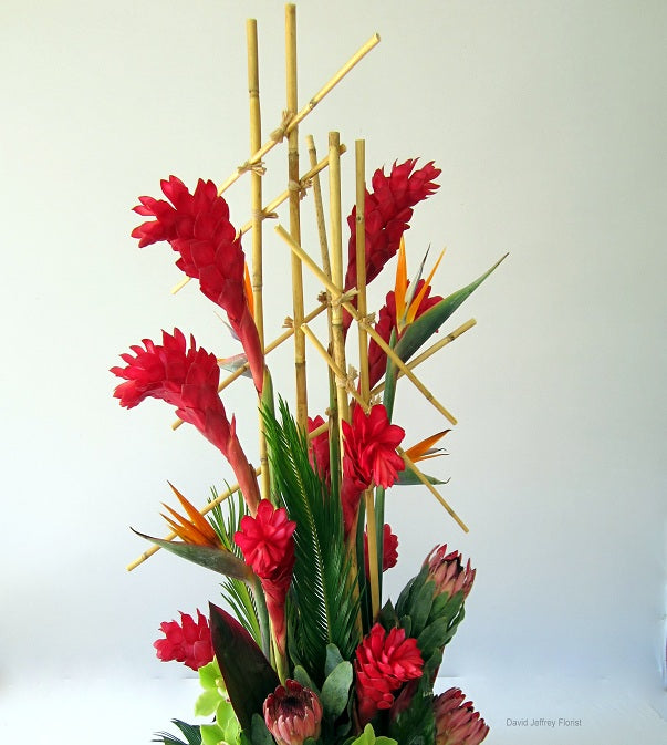Bamboo Garden Concept by David Jeffrey Florist
