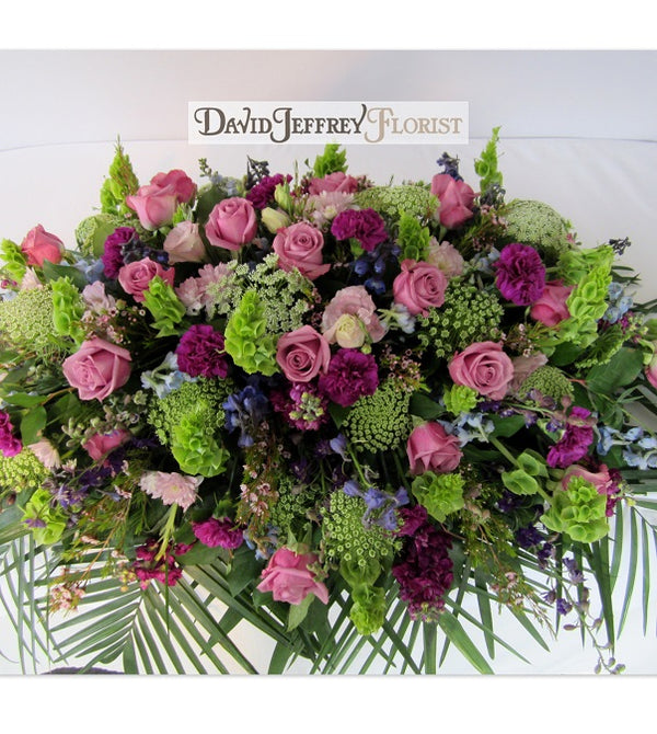 Casket Flowers by David Jeffrey Florist