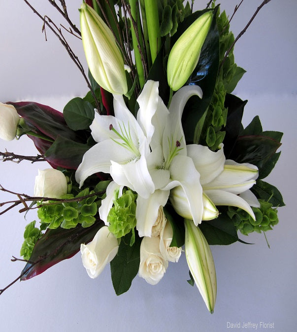 Calla Lillies by David Jeffrey Florist