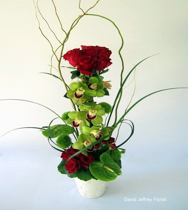 Compassion Contemporary Flower Design by David Jeffrey Florist