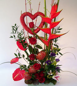 Cupids Arrow by David Jeffrey Florist