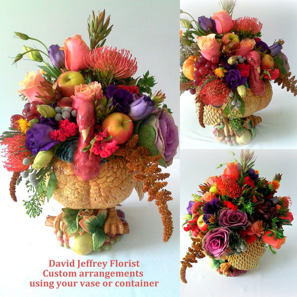 Centerpieces - Custom Thanksgiving Flowers