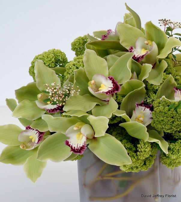 Contemporary Flower Design by David Jeffrey Florist
