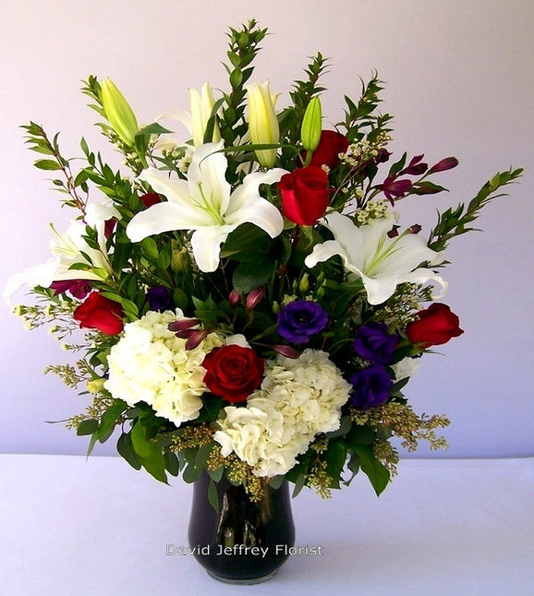 Floral Tradition Tribute Flowers by David Jeffrey Florist