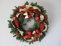 David Jeffrey's Wreath Fresh Pine
