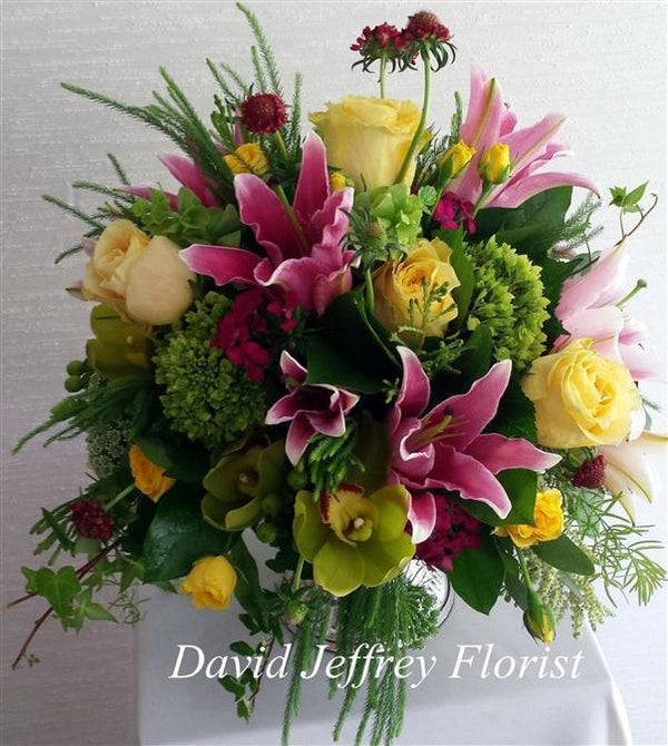 Flowers by David Jeffrey