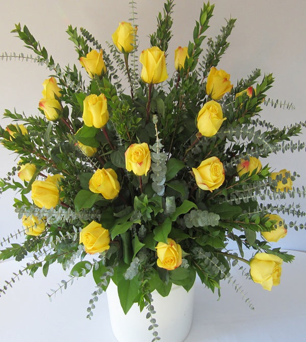 David Jeffrey's Roses - Yellow