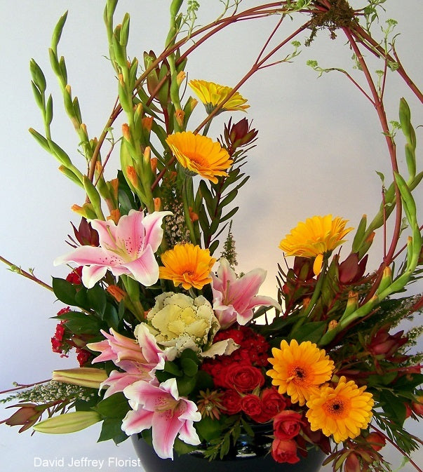Contemporary Flower Designs by David Jeffrey Florist