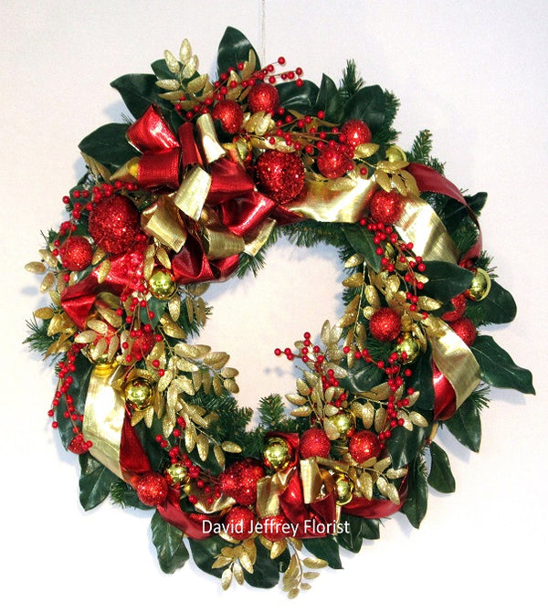 David Jeffrey's Christmas Dazzle Wreath