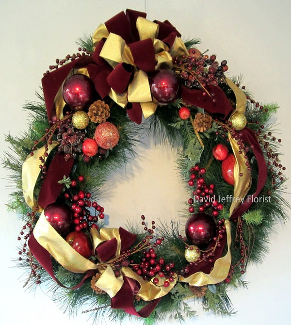 David Jeffrey's Christmas Elegance Wreath