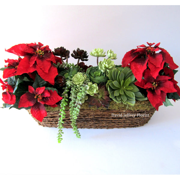 David Jeffrey's Christmas Faux Planter