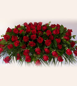 Red Roses for Casket