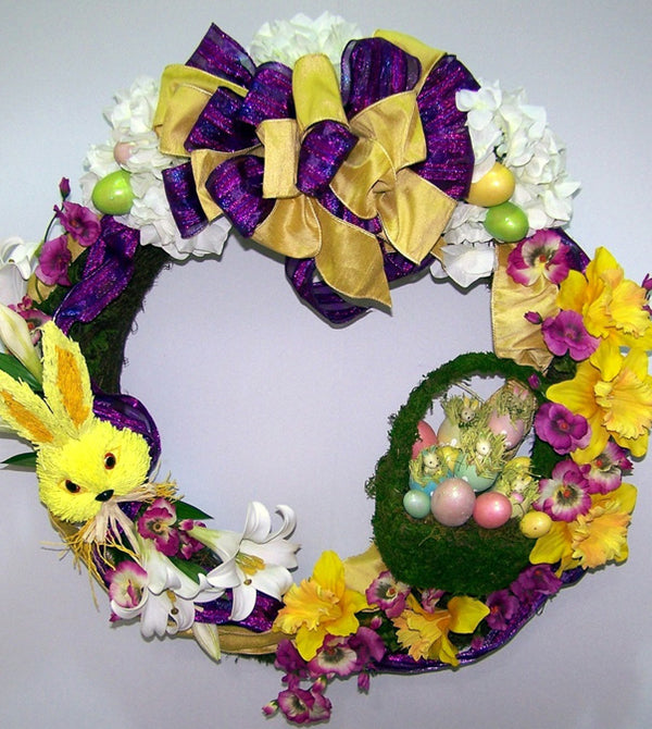 Easter- 28 Inch Wreath