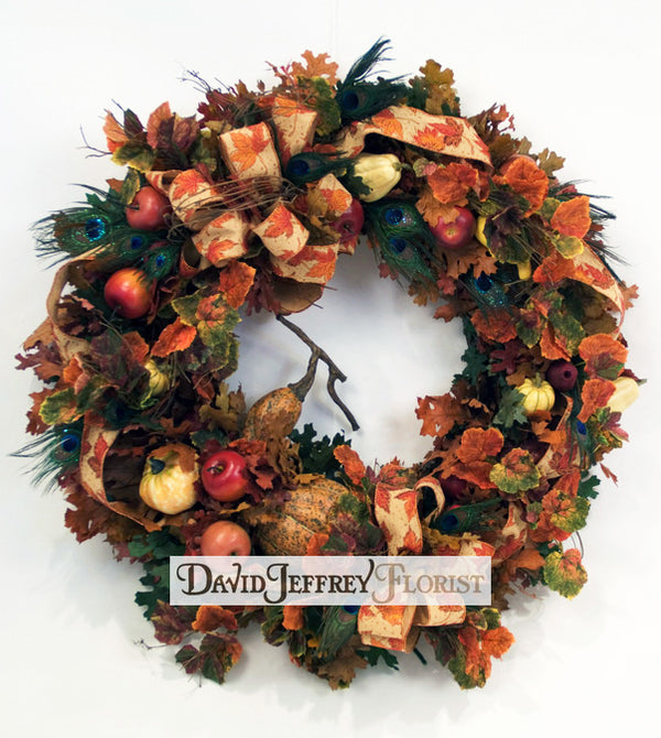 David Jeffrey's Fall Wreath
