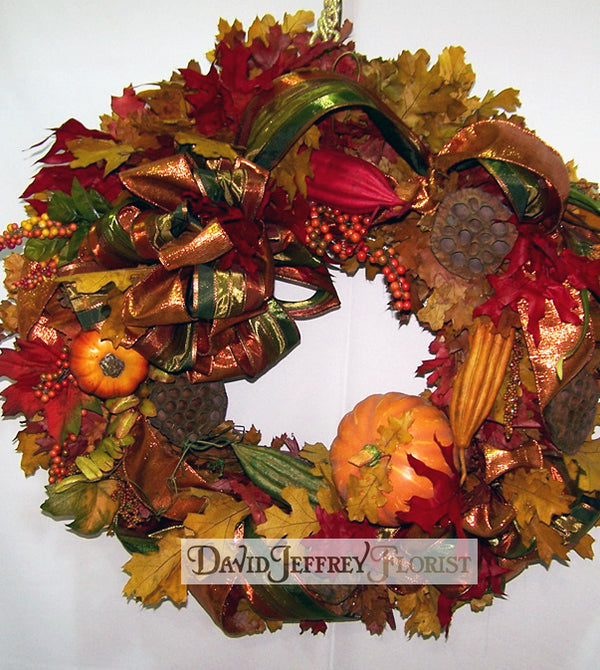 David Jeffrey's Thanksgiving Wreath